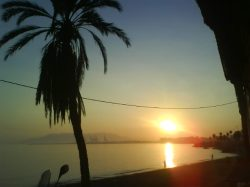 Puesta de Sol en los Baños del Carmen (Málaga)