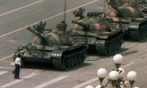 Protestas de la Plaza de Tiananmen, China, en 1989