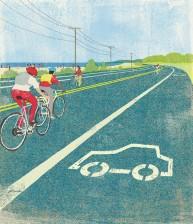 Algún día las bicis sustituirán a los coches