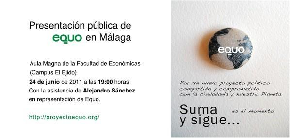 EQUO en Málaga