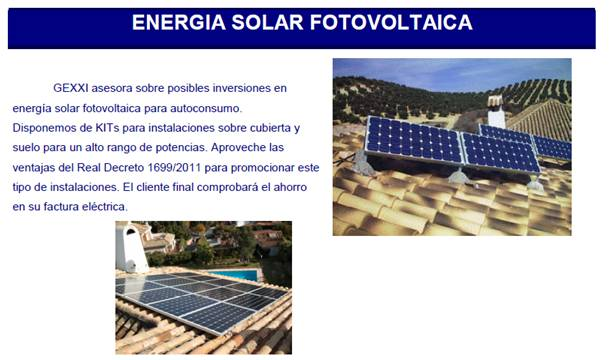 Energía solar y eólica de uso doméstico