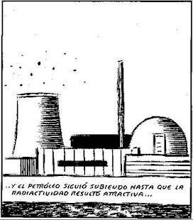 El Roto y el petróleo y la energía nuclear