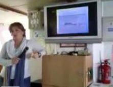Noelia Villalba durante la charla (17-11-2012)
