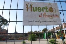 Huerto Urbano El Caminito, en Málaga (C/Zurbarán, Fuente Olletas)