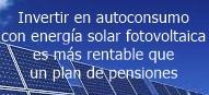 Inversión en Solar FV para autoconsumo