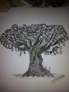 Dibujo por Ismael Julián, @ismael7060