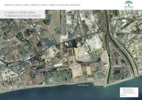 Plano: Futura Ciudad Deportiva del Málaga club de fútbol, que destruirá la valiosa zona ecológica de Arraijanal.