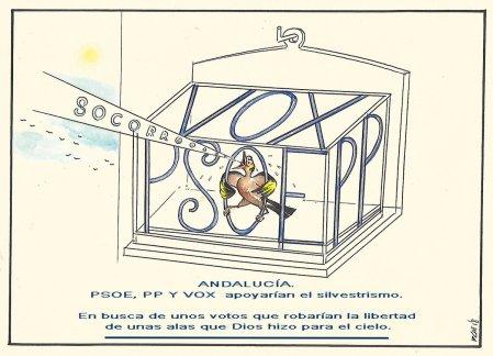 PSOE, PP y VOX quieren que se cazen y se enjaulen fringílidos, algo que está PROHIBIDO por la legislación europea.