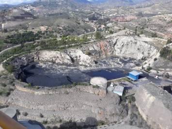Cementera de Málaga: Balsa de lodos tóxicos.