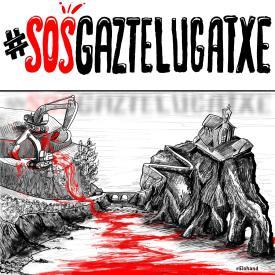 Pincha aquí para firmar por la protección de Gaztelugatxe.